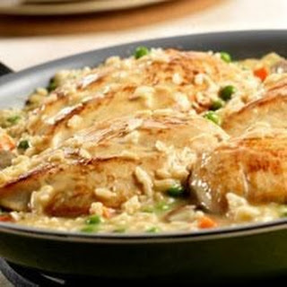 Chicken and Roasted Garlic Risotto