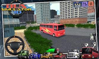 Screenshot of Bus Simulator 3D - free games