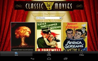 Screenshot of Classic B Movies