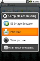 Screenshot of PrintBot