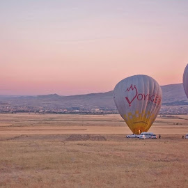 Hot Air Balloon by Sin Yee Yee - Landscapes Travel