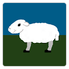 pixel sheep icon
