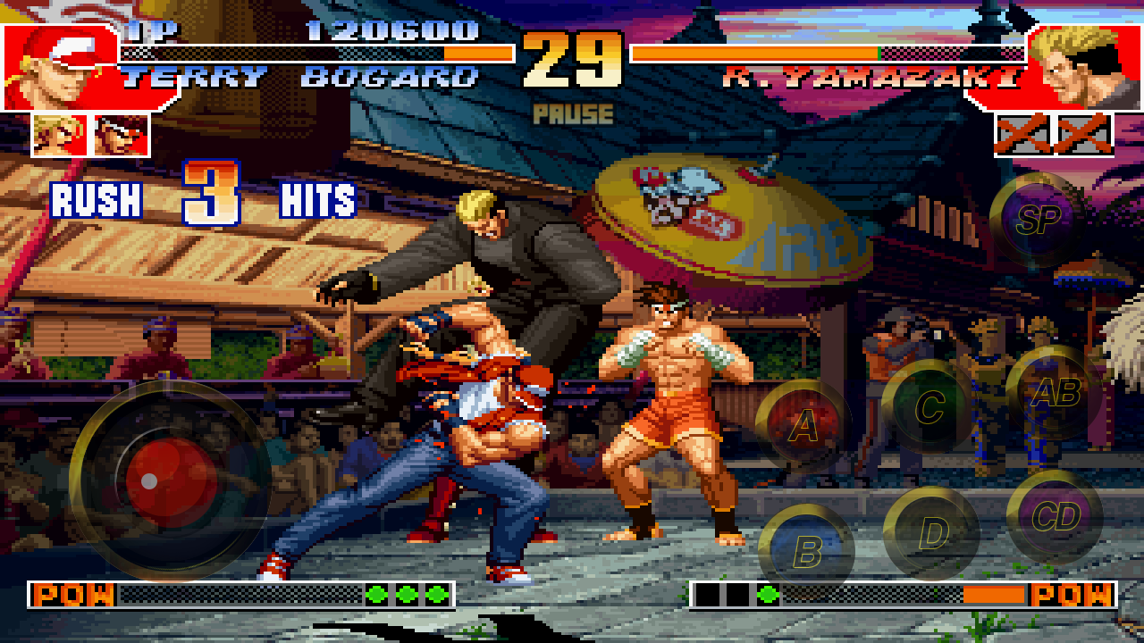 THE KING OF FIGHTERS '97 Screenshot 1