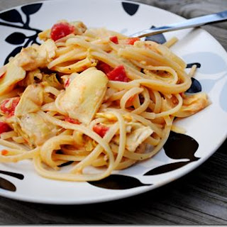 Creamy Pasta With Artichoke Hearts Recipes