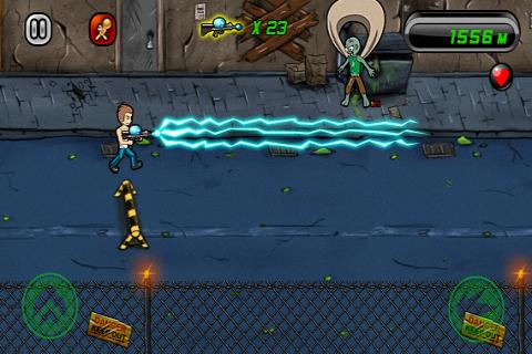 zombie-city-lite for android screenshot