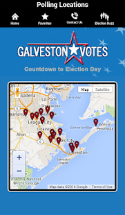 Galveston County Elections - screenshot
