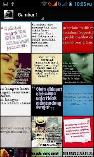 Gambar Kata Sedih- screenshot thumbnail