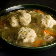 Easy Chicken and Chive-Dumpling Soup Recipe