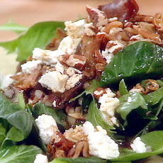 Warm Roasted Mushroom and Feta Salad
