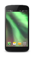 Screenshot of Aurora Free Video Wallpaper