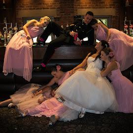 by Jo Darlington - Wedding Reception