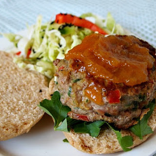 Curry Turkey Burgers