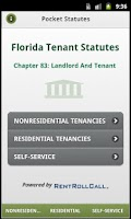 Screenshot of Landlord Tenant Statutes