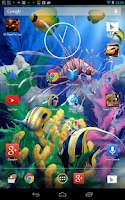 Screenshot of Aquarium 3D Live Wallpaper