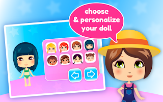 Screenshot of Dress up Dolls