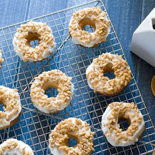 Gluten Free Cereal and Milk Donuts