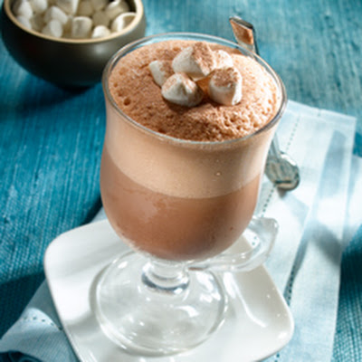 Frozen Hot Chocolate Tea