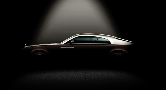 Rolls royce wraith side view