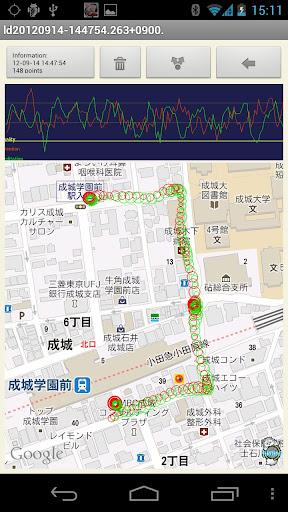 玩免費娛樂APP 下載LB Map (脳波測定) app不用錢 硬是要APP