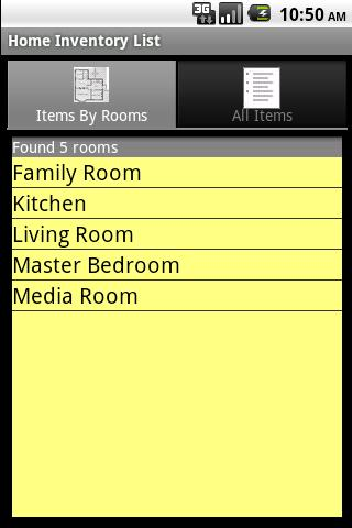 Home Inventory Organizer Lite