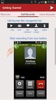 Screenshot of MP3 InCall Recorder & Voice