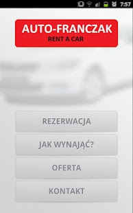 Auto-Franczak Rent a Car - screenshot