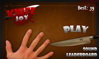 Screenshot of Knife Joy
