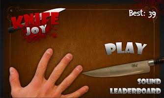 Screenshot of Knife Joy
