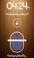 Screenshot of Fingerprint Lock Screen Plus