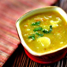 Curried Potato and Vegetable Soup