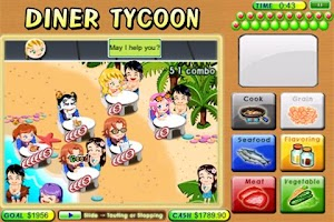 Screenshot of Diner Tycoon Lite