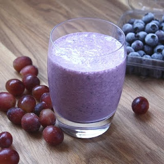 Blueberry Grape Smoothie Recipes