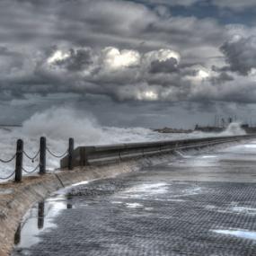 Storm at sea by Yuval Shlomo - Nature Up Close Other Natural Objects