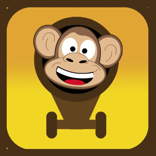 Cannonball Monkey LOGO-APP點子
