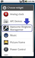 Screenshot of Ringtone Remover, Manager Pro
