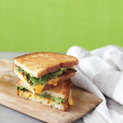 Bacon-and-Escarole Grilled Cheese