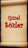 Screenshot of Güzel Sözler