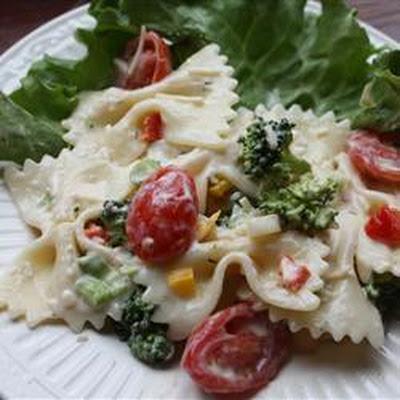 bow tie pasta salad basil recipes yummly