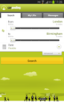Screenshot of carpooling.co.uk
