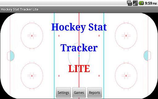 Hockey Stat Tracker Lite