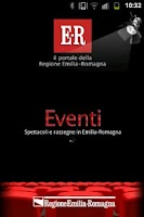 Screenshot of Eventi E-R