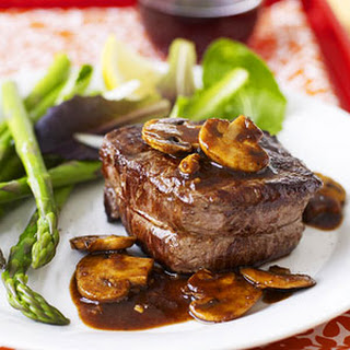 Filet with Mushroom Sauce