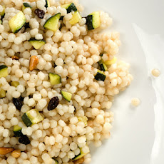 Campfire Couscous with Zucchini and Pine Nuts Recipe