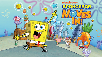 Screenshot of SpongeBob Moves In