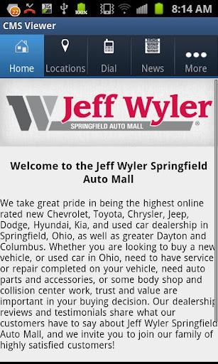 Jeff Wyler Springfield Auto Ma