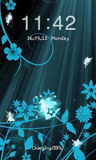 【免費個人化App】Go Locker Fairy Blue-APP點子