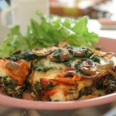 Fresh Spinach and Sun-Dried Tomato Lasagna