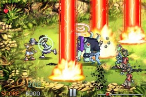 Screenshot of Pro Zombie Soccer Demo