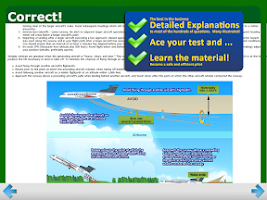Screenshot of FAA Commercial Pilot Test Prep