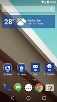 Screenshot of 1&1 Wetter Widget
